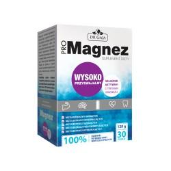 ProMagnez 30 saszetek 120g Dr Gaja Cytrynian Magnezu