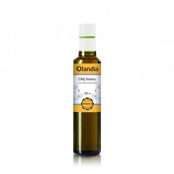 Olej lniany 250 ml Olandia kwasy tłuszczowe Omega-3 ALA