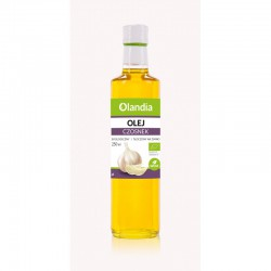 Eko Olej Słonecznikowy Czosnek Olandia 250 ml