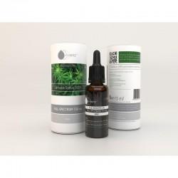 Olej konopny 5% raw 15 ml full specteum 750mg Essenz 100% Cannabis Sativa