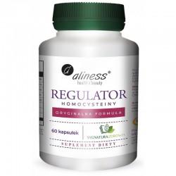 Regulator homocysteiny 60 kaps. Aliness witamina B2 B6 B12 kwas foliowy cholina n-acetylo-cysteina