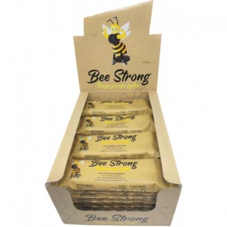 Baton Bee Strong daktylowo-słonecznikowy z pyłkiem pszczelim 35g (opakowanie 20 szt.)