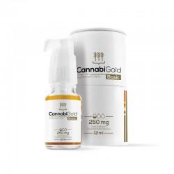 CannabiGold Basic 250mg 12ml olej konopny z ekstraktem z konopi włoknistych fitokannabinoidy  CBD CBDA CBG