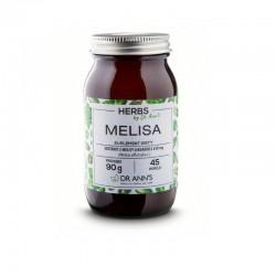 Melisa 90g Dr Ann's  inulina z cykorii Cichorium intybus L. ekstrakt z melisy DER 4:1Melissa Officinalis L.