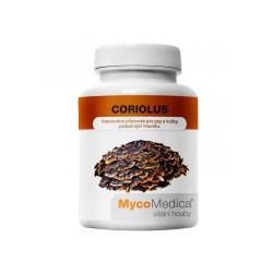Coriolus 500mg 90 kaps MycoMedica wrośniak różnobarwny, Yunzhi