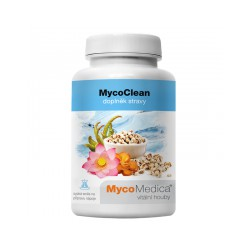 MycoClean 99g Mycomedica łzawnicanasiona lotosu orzechodajnego Fo Shou Maitake