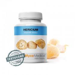 Hericium 90 kaps. MycoMedica soplówka jeżowata Hericium erinaceus