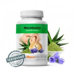 MycoGastro 90 g MycoMedica Hericium soplówka jeżowata Gan Cao lukrecja Aloe Vera Aloes zwyczajny inulina błonnik