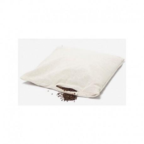 Poduszka gryczana (wsad) – bawełniana z łuską gryki 40/40