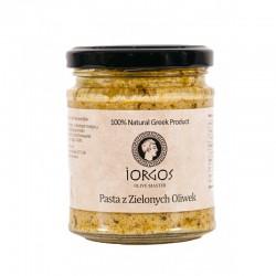 Pasta z zielonych oliwek Iorgos 190g Natureat