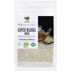 Koper włoski owoc 100g EcoBlik herbatka ziołowa koper słodki Foeniculum vulgare Mill.