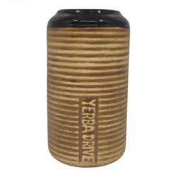 Naczynie ceramiczne do Yerba Mate Yerba Drive 260ml w prążki matero