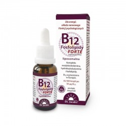 Witamina B12 Fosfolipidy FORTE 20 ml Dr Jacob's liposomalna b12