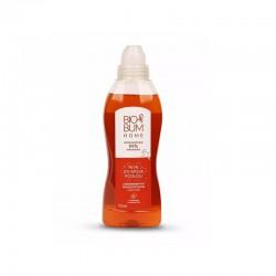 Płyn do mycia podłóg z biofermentem postbiotycznym i eukaliptusem 750ml BioBum o zapachu czerwonej pomarańczy