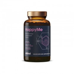 4Mind HappyMe 120 kaps. Health Labs wsparcie mózgu samopoczucie nastrój ekstrakt  cytryńca chińskiego Schisandra chinensis