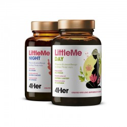 4Her LittleMe 150 kaps. (90 kaps. Day 60 kaps. Night) Health Labs magnez wapń kłącze imbiru żelazo selen B12 B6