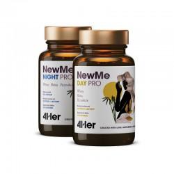 4Her NewMe Pro 60 kaps. (30 kaps. Day + 30 kaps. Night) Health Labs wlosy skora paznokcie cynk miedź biotyna witamina A E D