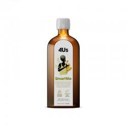 4Us SmartMe 250ml Health Labs kwasy omega 3-6-9 z oleju lnianego wiesiołka konopnego Witamina A E D