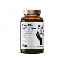 4Us ProtectMe immune+ 120 kaps. Health Labs colostrum krowie kwas masłowy Cordyceps sinensis cholina cynk  selen żelazo