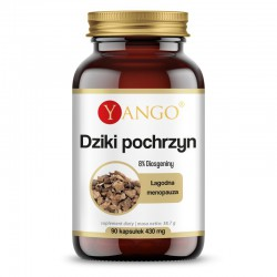 Dziki pochrzyn 90 kaps. Yango 8% Diosgeniny Dioscorea villosa