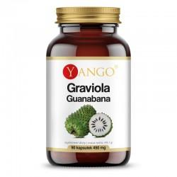 Graviola Guanabana 90 kaps. Yango Annona muricata