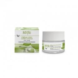 Krem do twarzy ANTI-AGE na noc z zieloną herbatą i kwasem hialuronowym 50ml Anthyllis