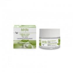 Krem nawilżający do twarzy na dzień i na noc z zieloną herbatą i kwasem hialuronowym 50ml Anthyllis