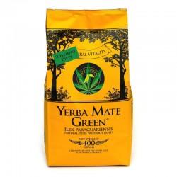Yerba Mate Green Original Cannabis Ilex paraguariensis mąka konopna 2% trawa cytrynowa