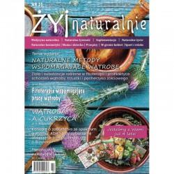 "Czasopismo ""Żyj Naturalnie"" lipiec sierpień 2021 numer 25"