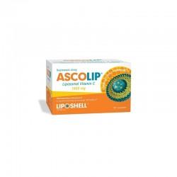 ASCOLIP liposomalna witamina C 1000 mg o smaku cytryny i pomarańczy 30 saszetek