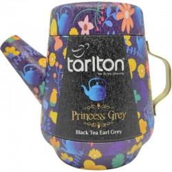 Herbata Czarna Princess Grey 100g  herbata czarna earl grey z chabrem w dzbanku aluminiowym Tarlton