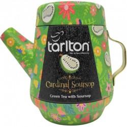 Herbata Zielona Cardinal Sour Sop 100g herbata zielona z sour sop w dzbanku aluminiowym Tarlton