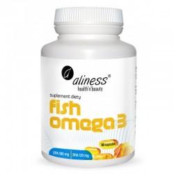 Fish Omega-3 180/120mg - 90 kaps. Aliness DHA EPA