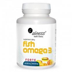 Fish Omega-3 Forte 500/250mg - 90 kaps. Aliness DHA EPA