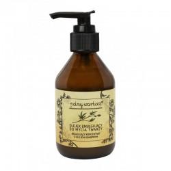 Olejek emulgujący do mycia twarzy 150ml regulujący koncentrat z olejem konopnym Polny Warkocz