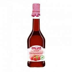 Syrop truskawkowy 500ml Polska Róża