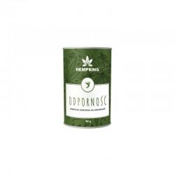 Herbatka konopna Odporność 40g HempKing kurkuma moringa imbir hibiskus Cannabis Sativa L.