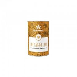 Herbatka konopna Metabolizm 40g HempKing moringa imbir cynamon Cannabis Sativa L.