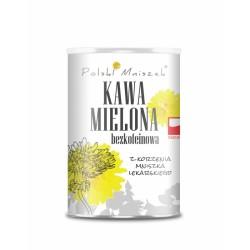 Kawa mielona bezkofeinowa naturalna z korzenia mniszka lekarskiego 150g Polski Mniszek