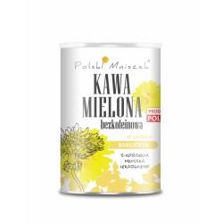 Kawa mielona bezkofeinowa o smaku waniliowym z korzenia mniszka lekarskiego 150g Polski Mniszek