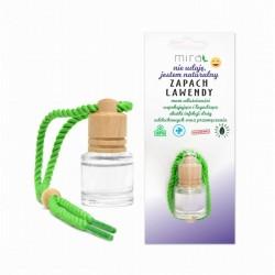 Zapach lawendowy naturalny w szklanej buteleczce 5ml Mira olejek eteryczny lawendowy