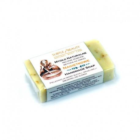 Mydło naturalne Nagietkowe do skóry suchej, wrażliwej i skłonnej do alergii