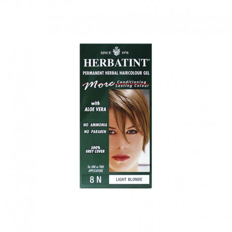 Trwała farba Herbatint Jasny Blond 8N