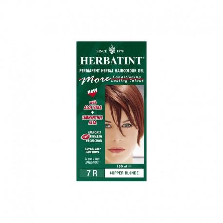 Trwała farba Herbatint Miedziany Blond 7R