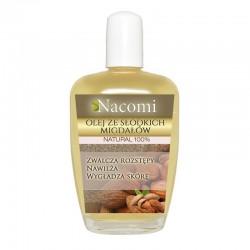 Olej ze słodkich migdałów 30ml Do pielęgnacji skóry wrażliwej Olej z migdałów