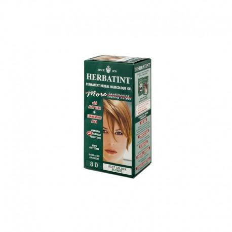 Trwała farba Herbatint Jasny Złoty Blond 8 D