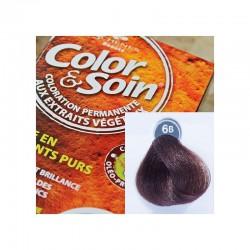 Trwała farba Color & Soin brąz kakao 6B