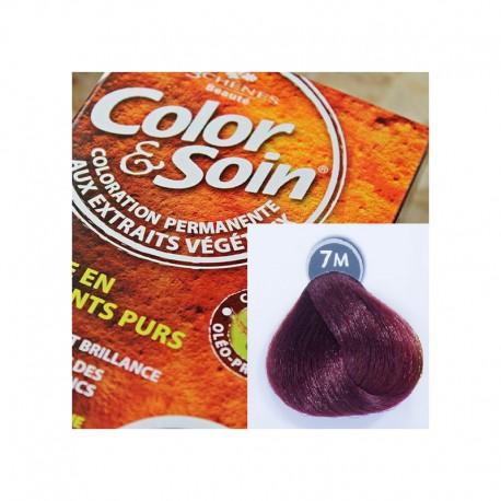 Trwała farba Color & Soin mahoniowy blond 7M