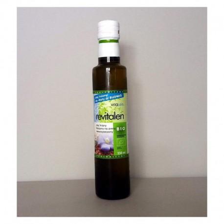 Olej lniany budwigowy BIO 250